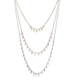 Lucky Brand® Layer Modern Metals Necklace