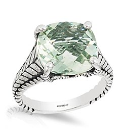 Effy® 925 Collection Sterling Silver Green Amethyst Ring