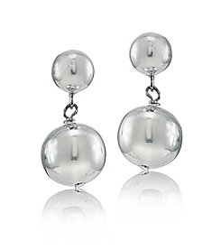 Designs by FMC Graduated Ball Drop Earrings