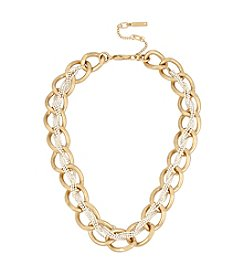 Kenneth Cole® Braided Woven Link Collar Necklace