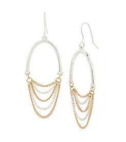 Kenneth Cole® Chain Chandelier Earrings