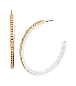 Kenneth Cole® Medium Hoop Earrings