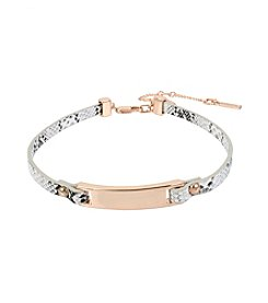 Kenneth Cole® Snake Leather Choker Necklace