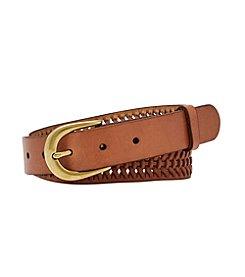 Fossil® Woven Novelty Belt