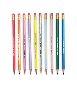 ban.do® Compliment Pencil Set Assorted Set Of Ten