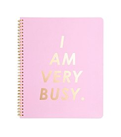 ban.do® Rough Draft Large I Am Very Busy Notebook