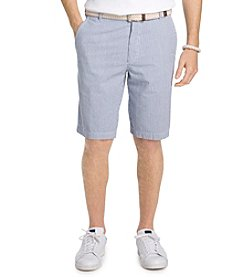 Izod® Men's Sandy Bay Seersucker Flat Front Shorts