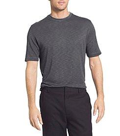 Van Heusen® Men's Short Sleeve Two-Tone Slub Crew Doubler Tee