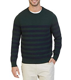 Nautica® Men's Textured Stripe Crewneck Sweater