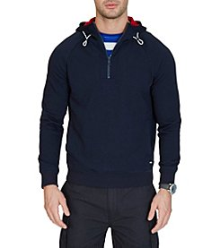 Nautica® Men's Slim Fit French Terry Half Zip Hoodie