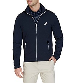 Nautica® Men's Slim Fit French Terry Track Jacket