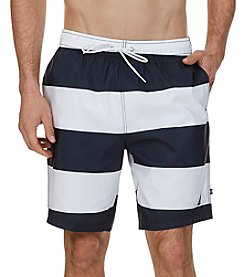 Nautica® Men's Quick Dry Striped Swim Trunks