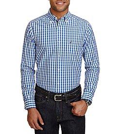 Nautica® Men's Classic Fit Gingham Buttondown Shirt