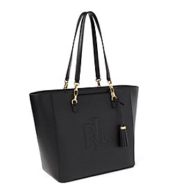 Lauren Ralph Lauren® Halee Pebbled Leather Tote