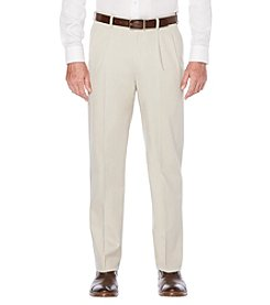 Savane® Men's  Ultra Performance Stretch Pleated Pants
