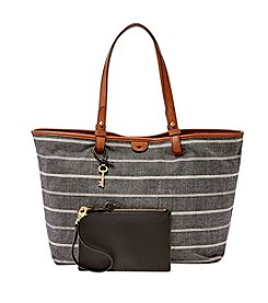 Fossil® Rachel Tote - Chambray Stripe