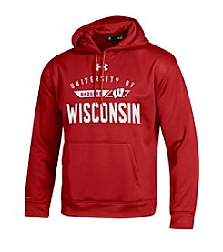 Under Armour® NCAA® Men's Wisconsin Badgers Large Logo Hoodie