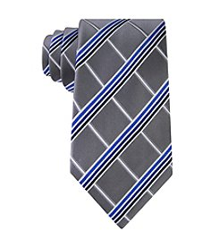Kenneth Roberts Men's Stripe Grid Tie