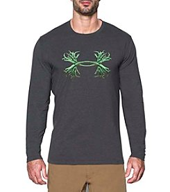 Under Armour® Men's Antler Long Sleeve Logo Tee