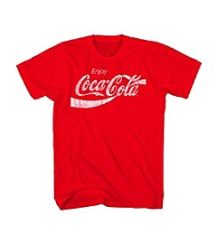 Mad Engine Men's Big & Tall Coca Cola Graphic Tee