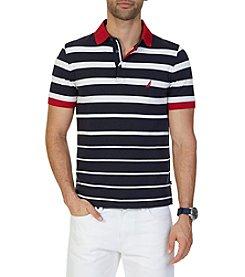 Nautica® Men's Classic Fit Striped Polo Shirt