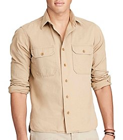 Polo Ralph Lauren® Men's New Military Long Sleeve Sport Shirt