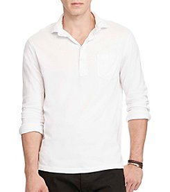 Polo Ralph Lauren® Men's Supima Jersey Long Sleeve Knit Shirt
