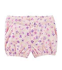 OshKosh B'Gosh® Baby Girls' Floral Bubble Shorts