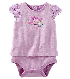 OshKosh B'Gosh® Baby Girls' Early Bird Lace Bodysuit