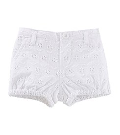 OshKosh B'Gosh® Baby Girls' Eyelet Bubble Shorts