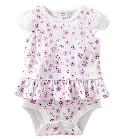 OshKosh B'Gosh® Baby Girls' Floral Peplum Bodysuit
