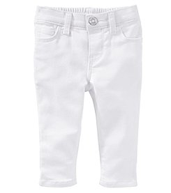 OshKosh B'Gosh® Baby Girls' Twill Capri Pants