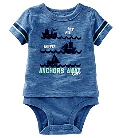 OshKosh B'Gosh® Baby Boys' Sailing Ships Bodysuit