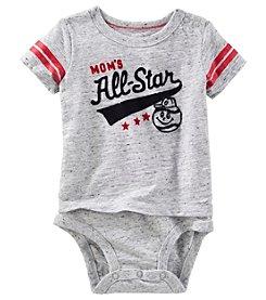 OshKosh B'Gosh® Baby Boys' 12-24 Month Moms All Star Bodysuit