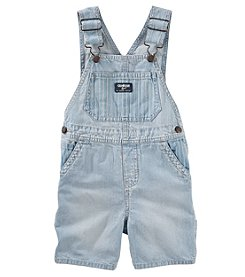 OshKosh B'Gosh® Baby Boys' Railroad Stripe Shortalls