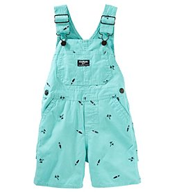 OshKosh B'Gosh® Baby Boys' Palm Print Shortalls