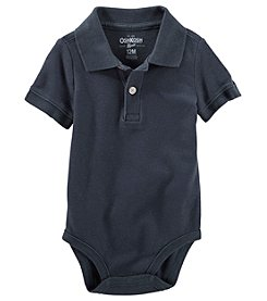 OshKosh B'Gosh® Baby Boys' Polo Bodysuit