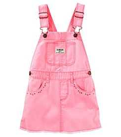 OshKosh B'Gosh® Baby Girls' Twill Raw Hem Jumper