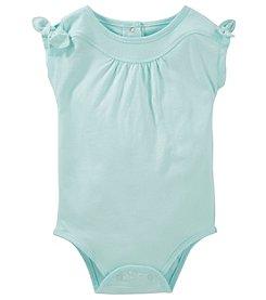 OshKosh B'Gosh® Baby Girls' Tie Shoulder Bodysuit