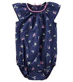 OshKosh B'Gosh® Baby Girls' Floral Print Bodysuit