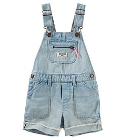OshKosh B'Gosh® Baby Girls' Roll Cuff Shortalls