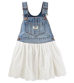 OshKosh B'Gosh® Baby Girls' Eyelet Trim Jumper
