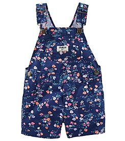 OshKosh B'Gosh® Baby Girls' Floral Shortalls