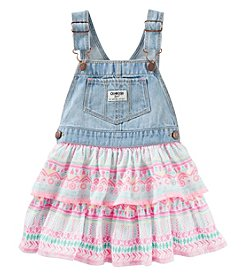 OshKosh B'Gosh® Baby Girls' Jumper With Geo Print Skirt