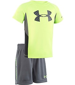 Under Armour® Boys' Shift Sportster Tee And Shorts Set