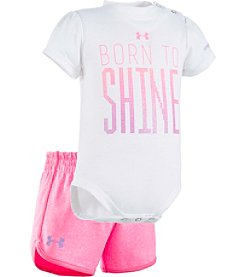 Under Armour® Baby Girls' Born To Shine Skort Set