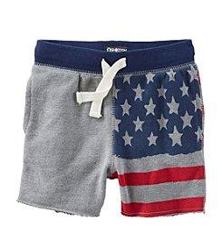 OshKosh B'Gosh® Baby Boys' American Flag Shorts