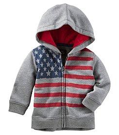 OshKosh B'Gosh® Baby Boys' American Flag Hoodie