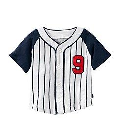 OshKosh B'Gosh® Baby Boys' Striped Baseball Tee