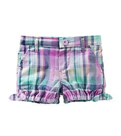 OshKosh B'Gosh® Baby Girls' Side Tie Shorts
